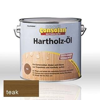 Consolan Profi Hartholzöl RM teak 2,5 Liter