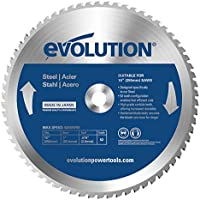 Evolution Power Tools–acero evoblade255acero dulce carburo, hoja, 255mm–Multi