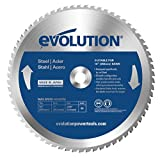 Evolution Power Tools - Steel EVOBLADE255 Mild Steel Carbide-Tipped Blade, 255 mm - Multi