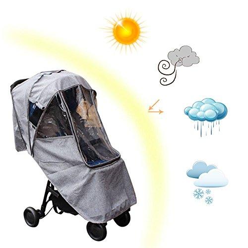 Seasons Shop Kinderwagen Sonnendach Stubenwagen Mit Markise Sonnenschirm Für Kinder Buggy Universal Sonnensegel Sonnenschutz Geeignetes Alter Für 0-6 Jahre Alt calm