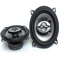 2PCSx Altavoces coaxiales del coche de 5 pulgadas Altavoces estéreos del audio Tweeter bajo para todos los coches Energía máxima de la música 180W Venta caliente