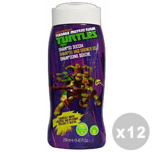 NINJA TURTLES Set 12 NINJA TURTLES Docciao shampoo delicato 250 ml. - linea bimbo
