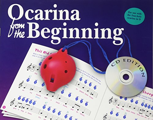 Ocarina From The Beginning -CD Edition-: Noten, Lehrmaterial, Bundle, CD für Okarina