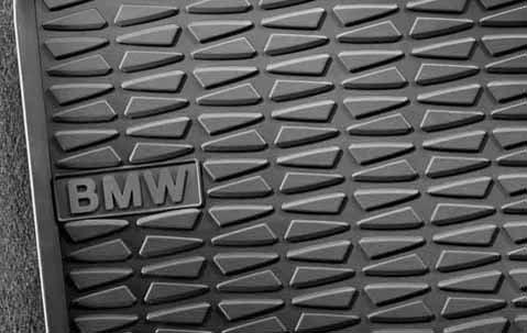 Preisvergleich Produktbild Original BMW Gummifußmatten LHD vorne für X1 E84 - s-drive ab 08/11
