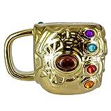 Marvel Avengers Infinity War Taza Desayuno Gauntlet Infinity War Los Vengadores, cerámica, 15...