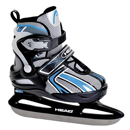 head-pattini-da-ghiaccio-regolabili-bambino-ice-nero-schwarz-blau-31-36