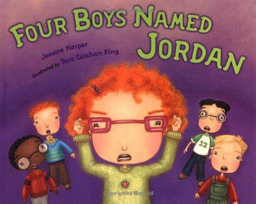 Four Boys Named Jordan by Jessica Harper (2004-07-22)