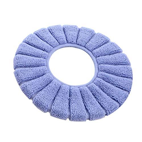 Techting bagno toilet seat cover lavabile closestool standard zucca modello morbido igienici cuscino colore casuale