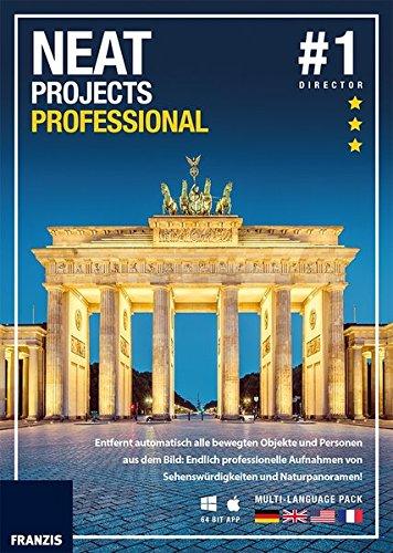 FRANZIS NEAT projects professional|1|Für bis zu 3 Geräte|32 & 64 Bit App|Fotosoftware für PC & Mac|Disc|Disc Kamera-management-software