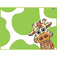 KidKusion High Chair Splat Mat, Giraffe
