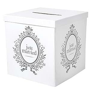 Geldbox / Geschenkbox Just Married für Ihre Hochzeitsfeier