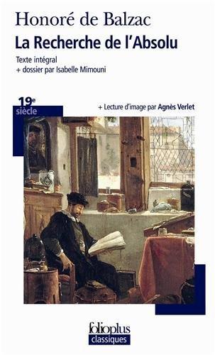 La Recherche de l'Absolu by Honoré de Balzac (2012-01-05) par Honoré de Balzac