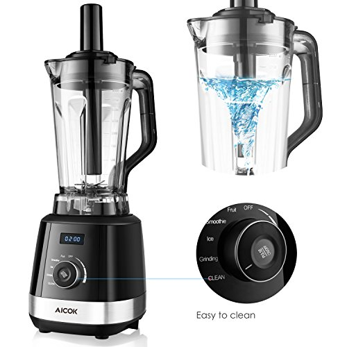 aicok mixeur blender smoothie 1500w 2l blender professionnel haute puissance 70oz pour. Black Bedroom Furniture Sets. Home Design Ideas