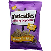 Metcalfe's Popcorn | Sweet n Salt Popcorn | 1 x 80g