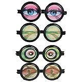 Scherzbrille Brille mit Augen, sortiert