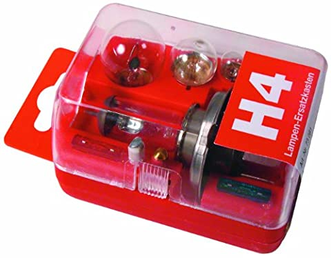 Unitec 73081 Replacement Lights Set H4 Red