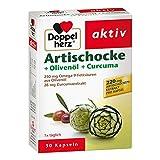 Doppelherz Artischocke + Olivenöl + Curcuma Kapsel 30 stk