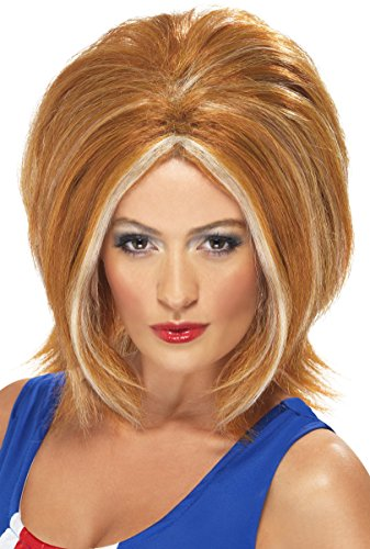 Smiffy's Girl Power Wig - Ginger Blonde