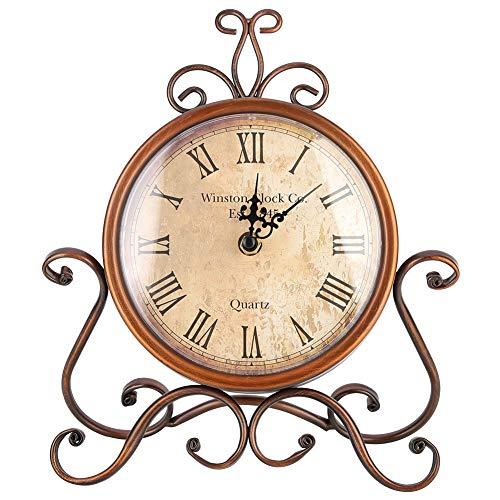 ¡Este hermoso reloj emana un encanto antiguo que lo convertirá en un excelente complemento para su decoración interior!    Características:   1. Hecho con la mejor artesanía, duable y firme de usar.  2. Moda, reloj de calibración elegante y preciso. ...
