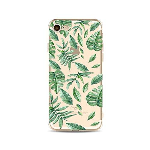 """CoqueiPhone 7 Etui Housse,BoomTeck Coque Pour 4.7"""" Apple iPhone 7 Silicone Souple Transparente Motif Clear Ultra Mince Anti Choc Anti-rayures Gel TPU Etui Protection Bumper Case - Vacances d'été Trop 14"""