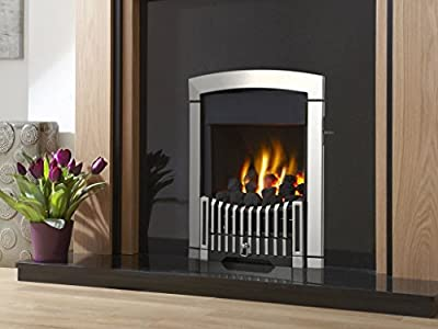 Flavel FKPCSLSN Silver Rhapsody Plus Gas Fire - SC