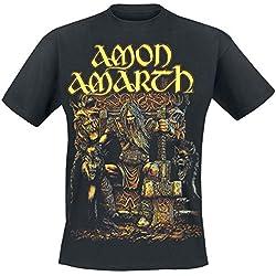 Amon Amarth Thor Camiseta Negro