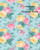 Address & Birthday Book: Address Logbook, Phone Numbers, Email and Birthday Information, Alphabetical Addresses Organiser Journal, Diary, Notebook, ... Volume 24 (Contact Address Log Books)