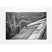 Archivio Foto Locchi Firenze – Stampa Fine Art su passepartout 70x50cm. – Immagine del Duomo di Firenze negli anni '30