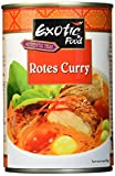 Exotic Food Rote Currysauce Fix+Fertig, 6er Pack (6 x 410 g Dose)