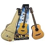 Luna Guitars SAF PK Safari Travel Pack avec guitare Muse Satin et sangle/accordeur/médiators et housse