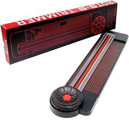 VViViD Rot8 Papierschneidemaschine, 8 Klingen, 27,9 cm