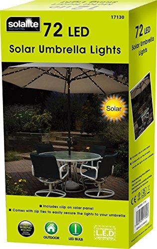 Newsbenessere.com 51OlGNbIfmL 72 LED a energia solare, fata-Parasole luci, doppia funzione