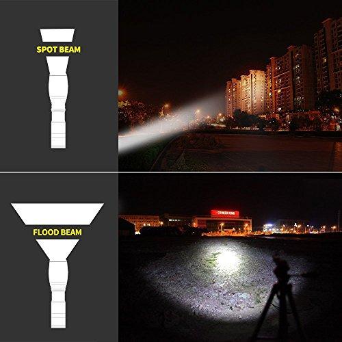 Elekin Taschenlampe 2000 Lumen LED Cree XM-L T6 - 7