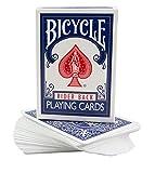 Le jeu biseauté (Bicycle) (Bleu)