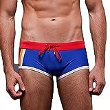 Mxssi Homme Maillot de bain / Short de bain / Shorts de plage / Boxer Shorts larges / Surf Pants Swimwear doux confortable