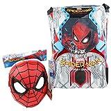 Seven DC Comics Spiderman Home Coming avec Gadget Sac à dos Double Compartiment Sac pour l'ecole Cartable Loisirs