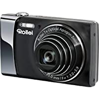 Rollei Powerflex 470 Digitalkamera (14 Megapixel, 7-fach opt. Zoom, opt. Bildstabilisator, 7,62 cm (3 Zoll) Display, HD-Video-Auflösung) schwarz