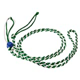 Pinkdose® Green, M: 1.4M Adjustable Pet Hamster Leashes Gerbil Pet Cage Leash Cotton Rope Harness Lead Collar for Rat Mouse Hamster Pet Supplies