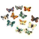 Model Plastic Butterfly Figures Kids...