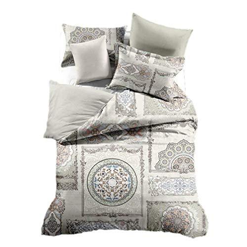 Europäischen Bettbezug Sets Digitaldruck Bettwäsche-Set-Queen Kingsize-Bett Bezug Kopfkissen Full/Queen 8 -