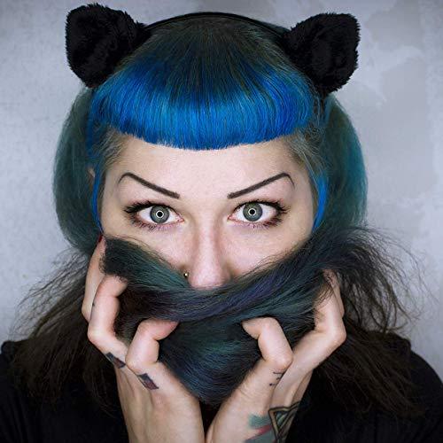 Haarreif *Black Cat* - Katze | Fascinator | Head Piece | Hair Circlet | Cosplay | Carnival | Halloween