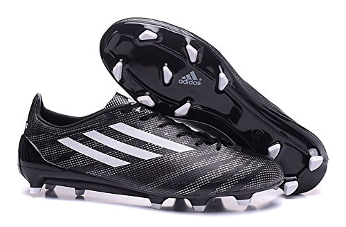 Andrew générique pour homme Adizero FG Chaussures de Football Noir Bottes de Football