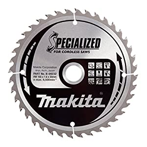 51OlN%2Bf03 L. SS300  - Makita B-09232 - Disco HM 165/20/40D Batería