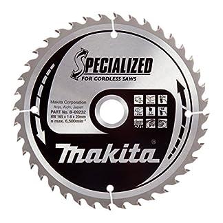 Makita B-09232 – Disco HM 165/20/40D Batería
