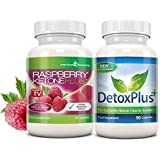 Raspberry Ketone Plus Colon Cleanse Combo Pack 1 Month Supply