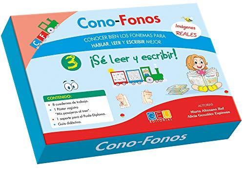 Cono-Fonos 3 - ¡Sé leer y escribir! por Alicia y Altozano Ruf, Marta González Espinosa