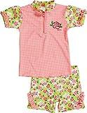 Playshoes Mädchen Tankini 2 - teiliges Badeset Rosen UV - Schutz nach Standard 801, Gr. 86 (Herstellergröße: 86/92), Mehrfarbig (original 900)