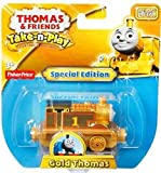 Thomas & Friends Take n Play Special Limited Edition Gold Thomas