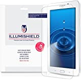 Samsung Galaxy Tab E 7.0 Screen Protector [3-Pack], iLLumiShield - Japanese Ultra Clear HD Film with Anti-Bubble and Anti-Fingerprint - High Quality Invisible Shield - Lifetime Warranty