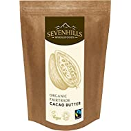 Sevenhills Wholefoods Organic Fairtrade Cacao Butter 1kg